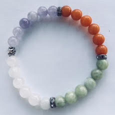 earth wind fire and reiki bracelet