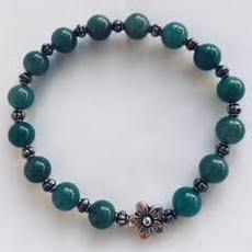 Jade Lotus Flower Reiki Bracelet